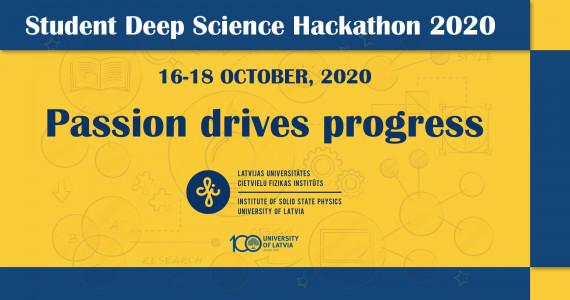 Student Deep Science Hackathon 2020