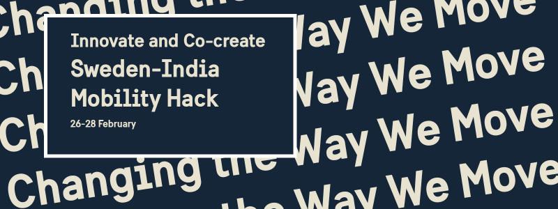 Sweden-India Mobility Hack